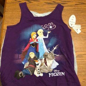 """""""Frozen"""" tank top"""
